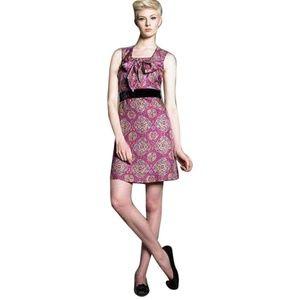NEW SEE by Chloe Paisley Velvet Waist Dress